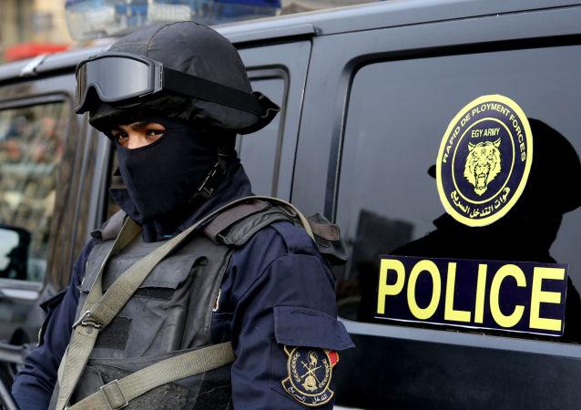 Agente federal egípcio