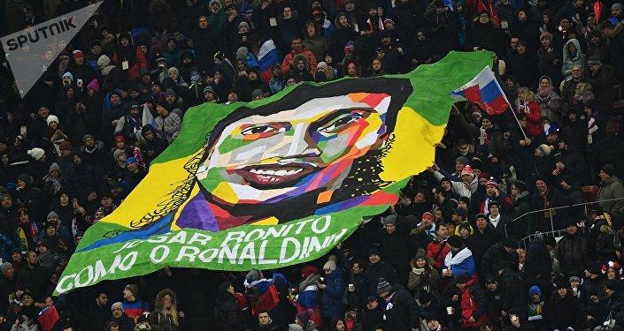 Amistoso Rússia Brasil