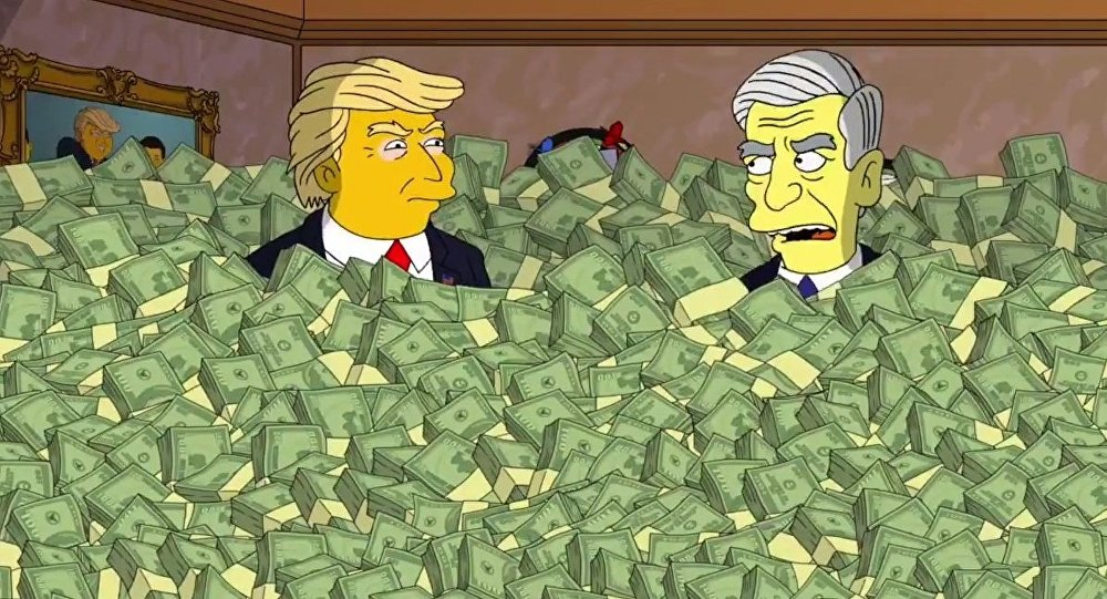 Os Simpsons - Robert Mueller se encontra com o presidente Donald Trump