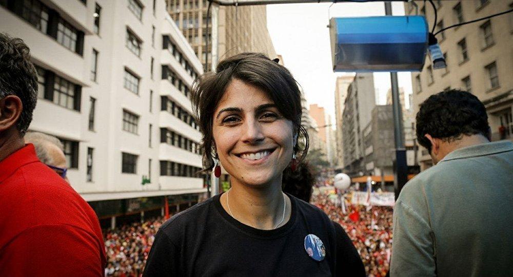 Manuela d´Ávila, pré-candidata à Presidência da República