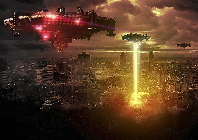 Guerra do futuro (imagem ilustrativa)