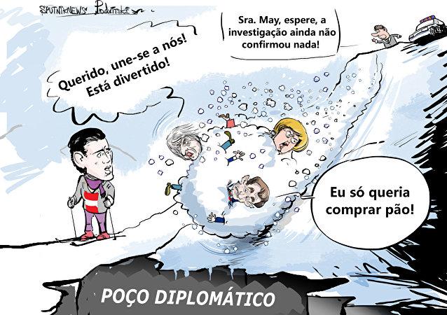 Tem que ser forte para não cair na avalanche da diplomacia europeia