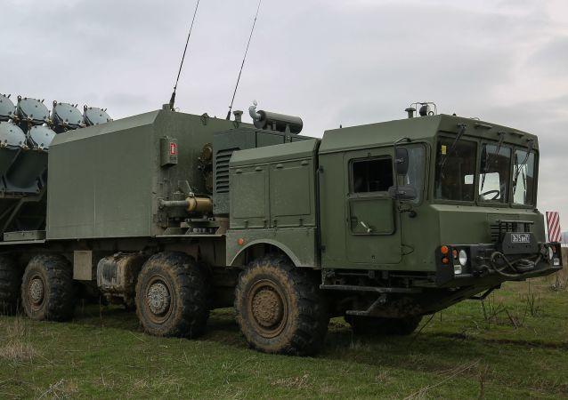 Sistema de mísseis costeiros Bal (foto de arquivo)