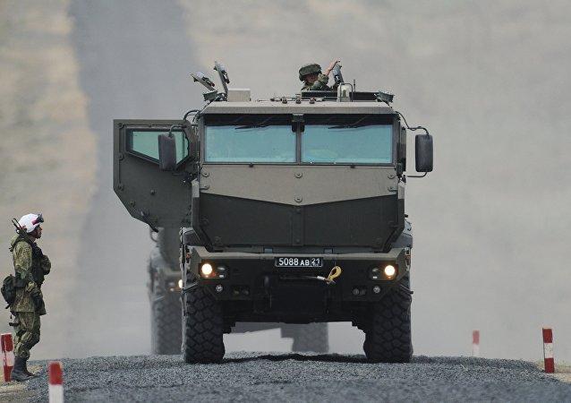 Taifun, vehículo blindado ruso