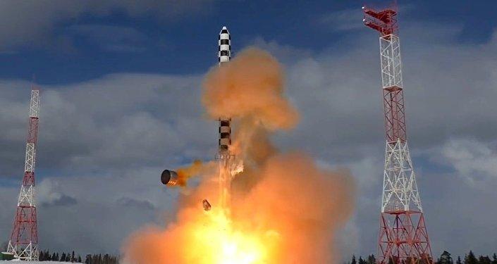 Testes do míssil balístico intercontinental Sarmat, 29 de março de 2018