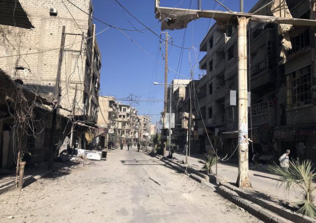 Situação em Ghouta Oriental, Síria