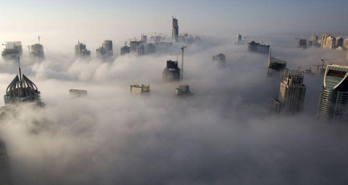 Nevoeiro atinge Dubai