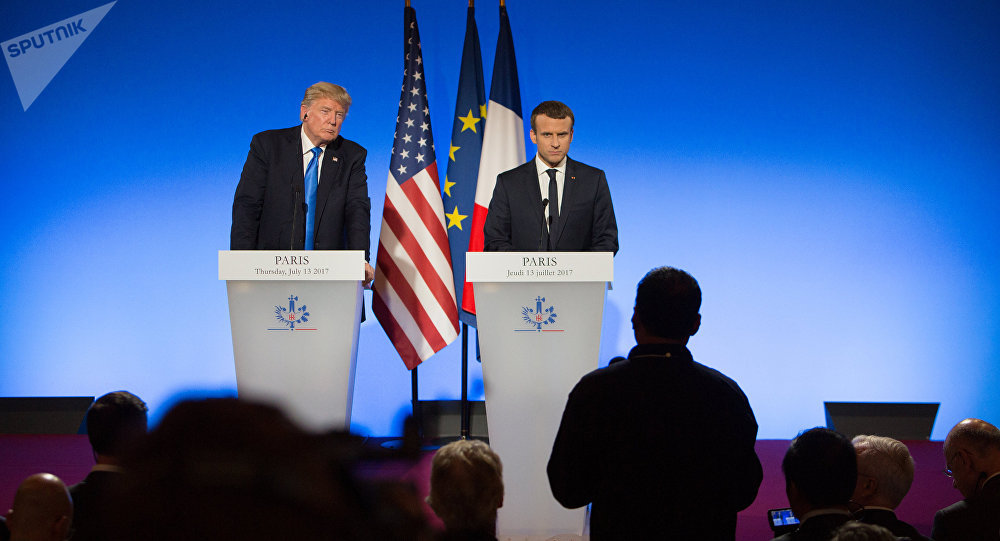 Há provas de que Assad coordenou ataque químico, diz Macron
