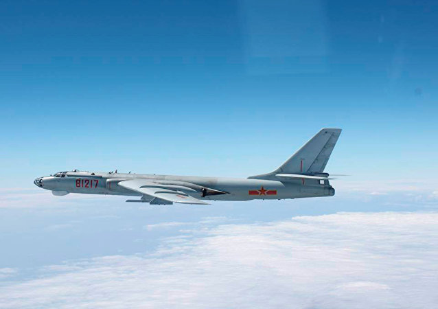 Bombardeiro X-H-6 da Força Aérea da China