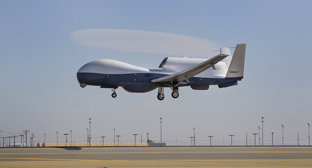 MQ-4C Triton flight testing