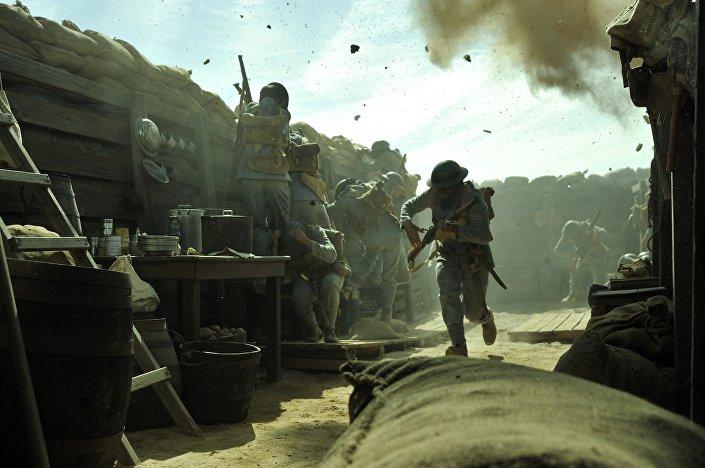 Cena do filme Soldado Milhões