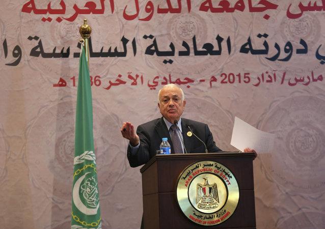 Secretário-geral da Liga Àrabe, Nabil Elaraby