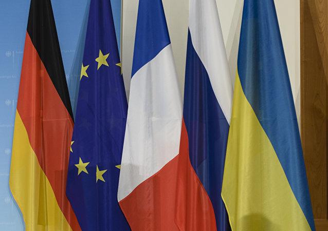 """Termina em Berlim o encontro dos representantes do """"quarteto de Normandia"""""""