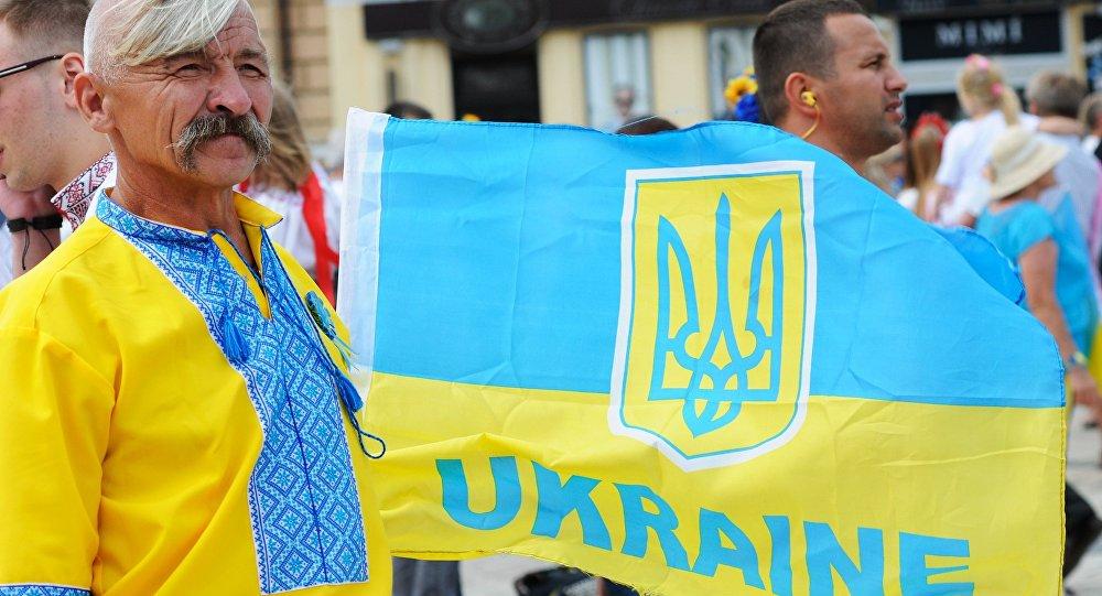 Um patriota ucraniano