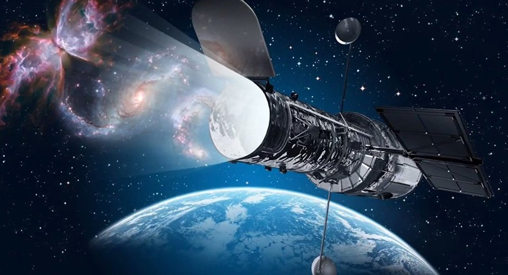 Telescópio Hubble (imagem referencial)