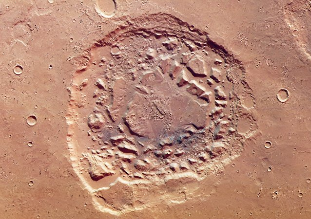 Cratera marciana Ismenia Patera