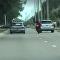 'Minha vingança será maligna': atrito em estrada passa dos limites (IMAGENS FORTES)