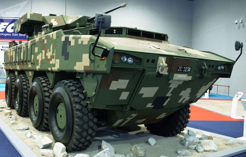 Veículo blindado AV8 Gempita da produtora malaia Deftech