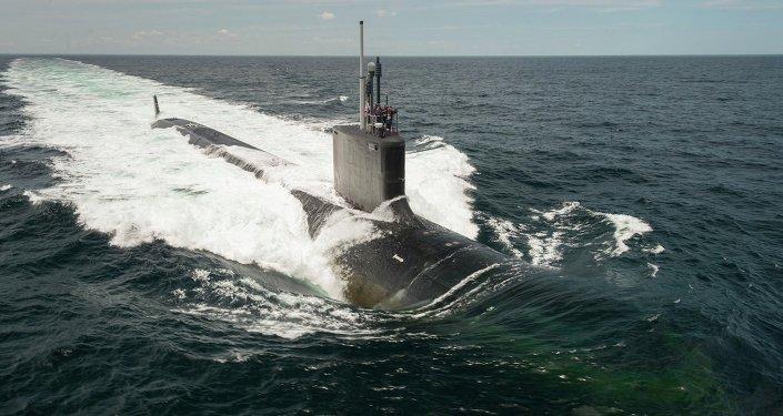 Submarino estadunidense USS John Warner
