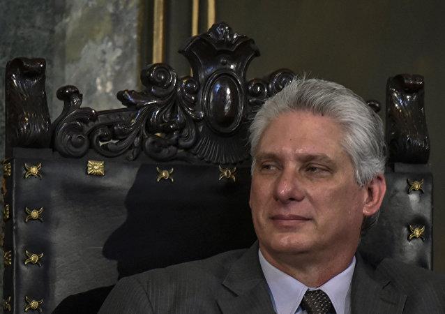Miguel Díaz-Canel, presidente eleito de Cuba