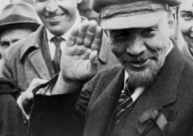 Vladimir Lenin em Moscou, 1920