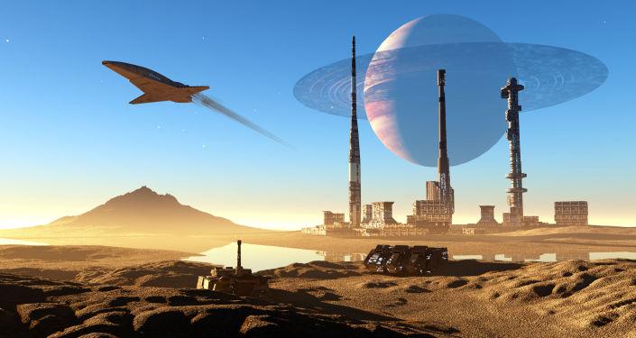 Nave espacial (imagem referencial)