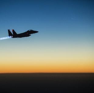 Caça F-15 da Força Aérea americana