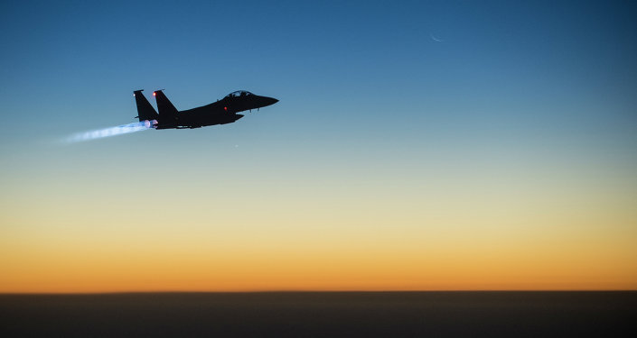 F-15E Strike Eagle da Força Aérea americana
