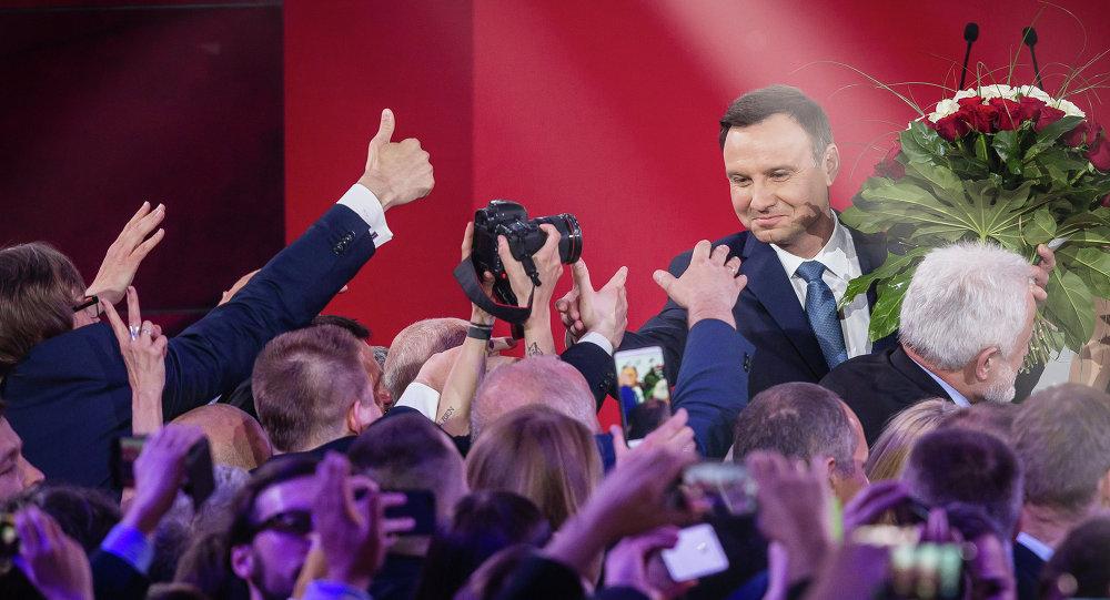 Andrzej Duda vence as eleições presidenciais na Polônia