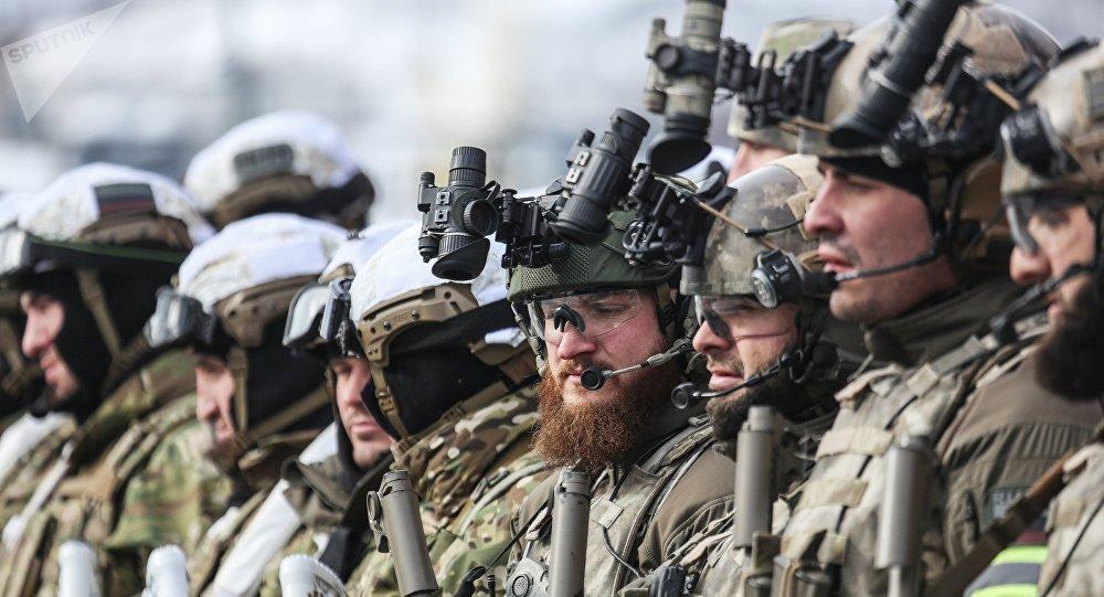 Exercícios da Guarda Nacional da Rússia em Murmansk