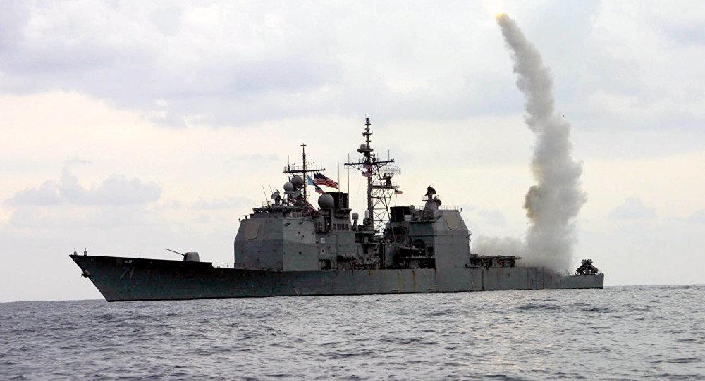 Lançamento de míssil Tomahawk (foto de arquivo)
