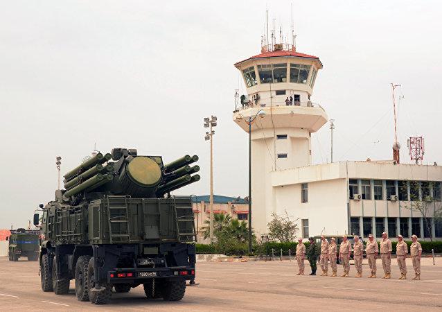Base militar russa de Hmeymim, na cidade síria de Jableh