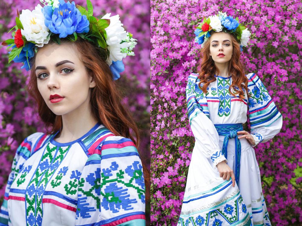 Yulia Taran, estudante do 1º ano da Universidade Estatal da Bielorrússia