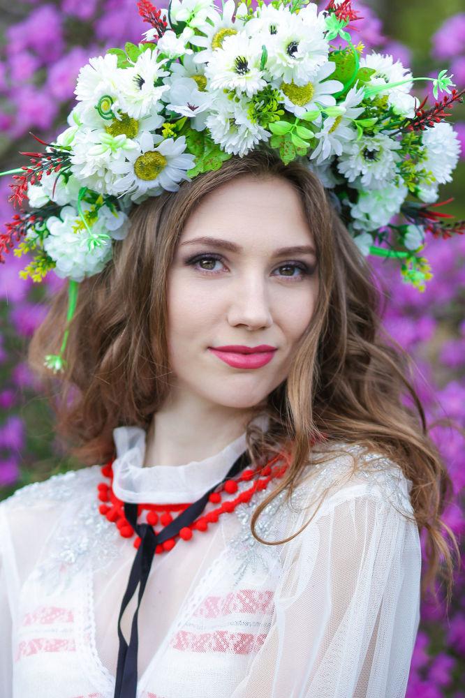 Yana Schadrina, estudante do 4º ano da Universidade Estatal de Tecnologia de Vitebsk