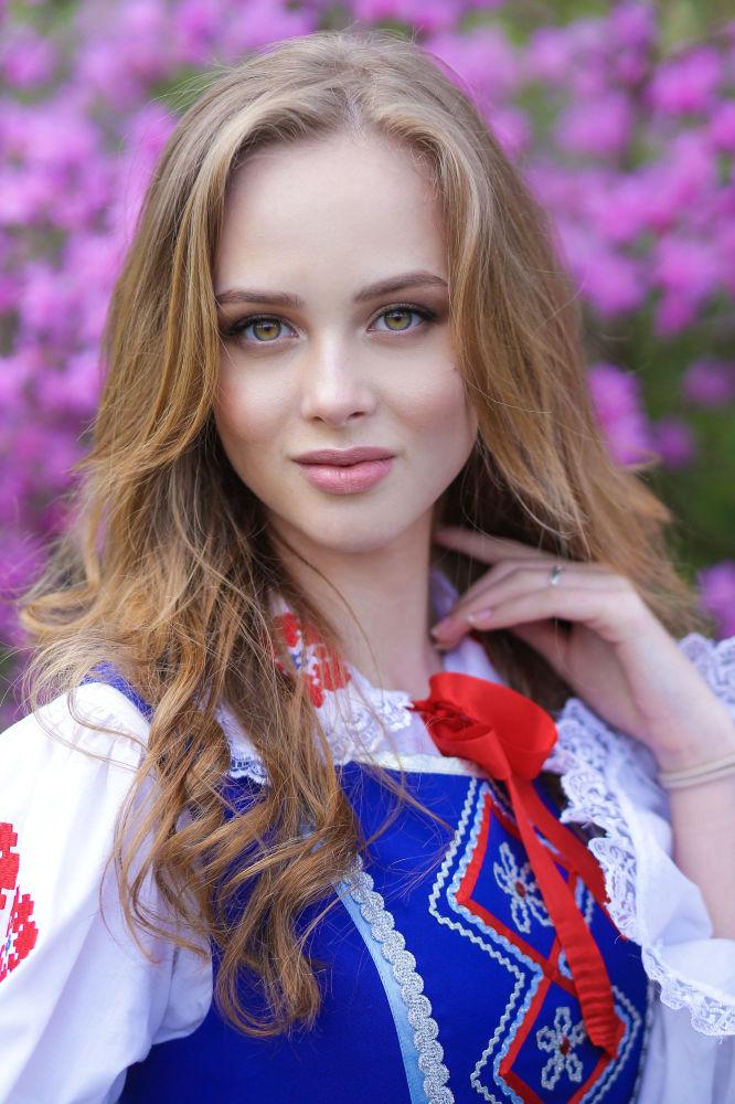 Vlada Vodyanova, estudante do 1º ano da Universidade Estatal Técnica de Brest