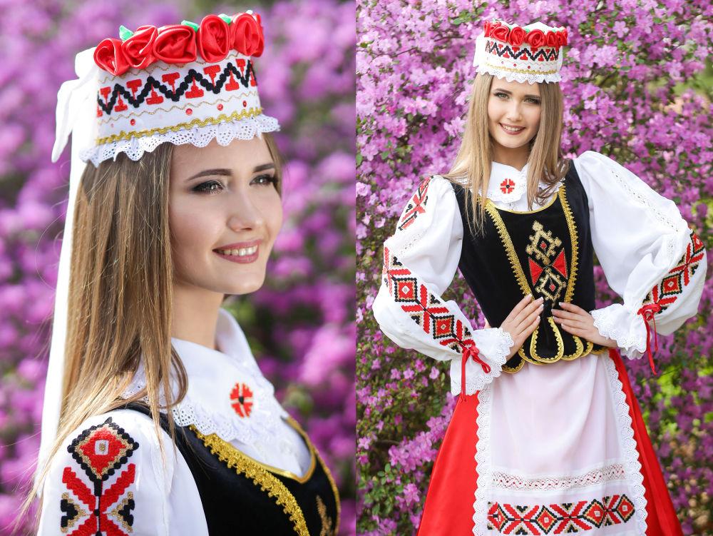 Maria Solovieva, estudante do 2º ano da Universidade Estatal de Masherov, na cidade de Vitebsk