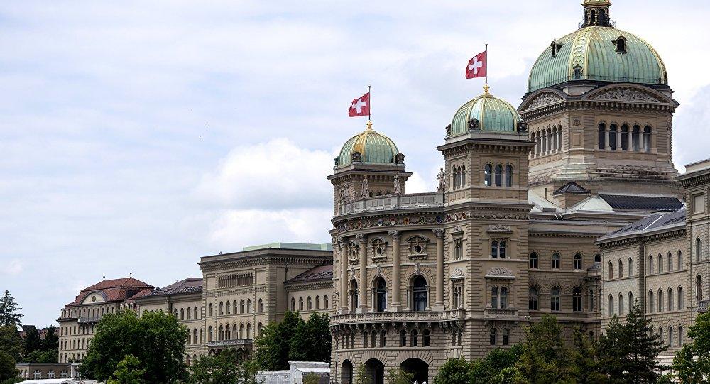 Palácio Federal da Suíça, Berna (imagem de arquivo)