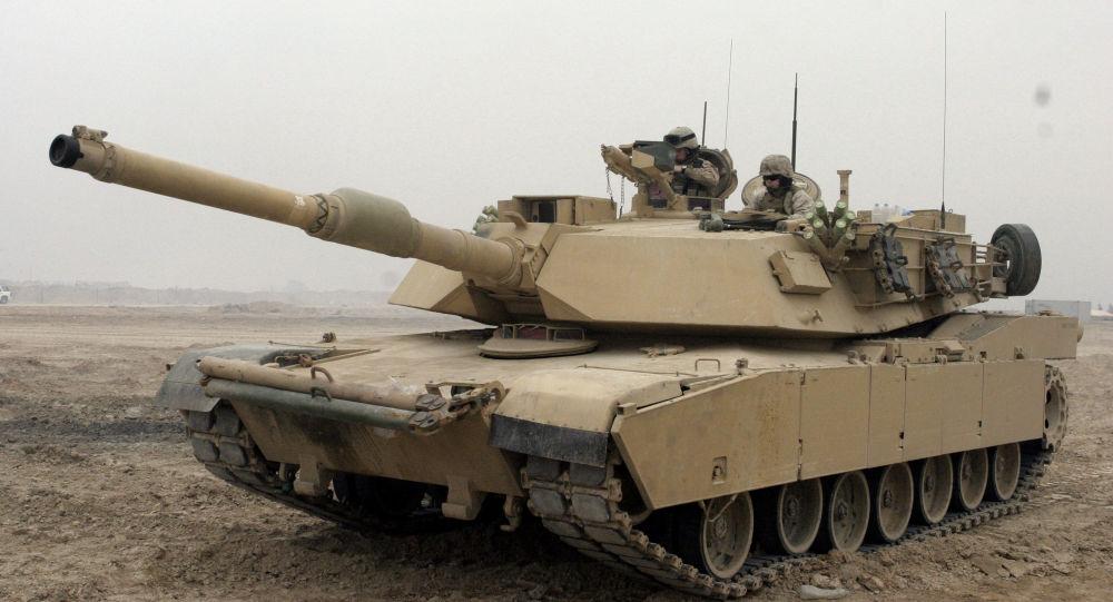 Tanque M1Abrams (foto de arquivo)