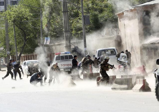 Forças de segurança do Afeganistão (foto de arquivo)