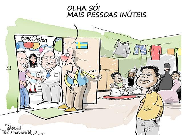 Parece que os cidadãos suecos estão fartos com a política de portas abertas do seu país e não têm vontade de convidar toda a Europa à Suécia.