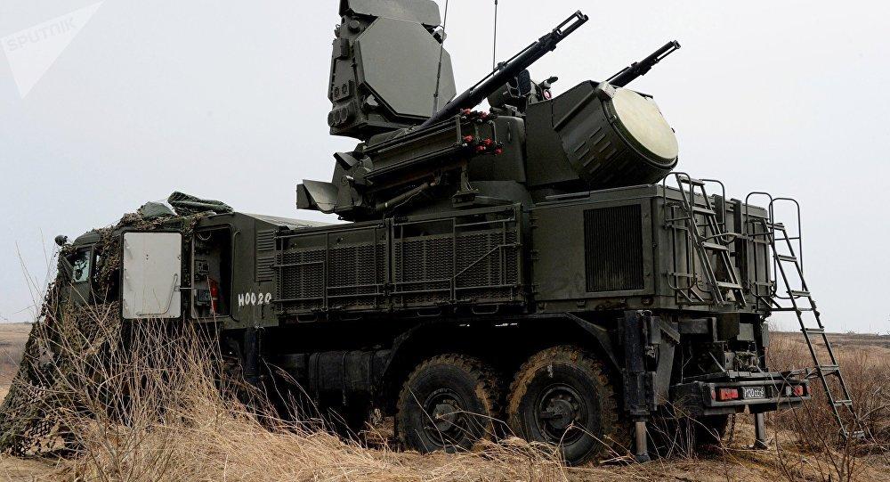 Sistemas de defesa antiaérea Pantsir-S1 (foto de arquivo)