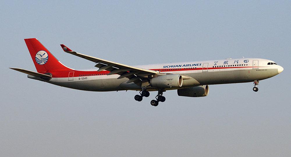 Copiloto é parcialmente sugado por janela de avião