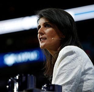 Embaixadora dos EUA na ONU, Nikki Haley