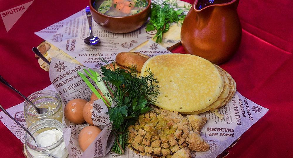 Pratos nacionais da Mordóvia