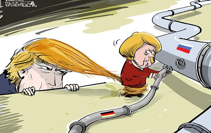 Vai ser difícil desenrolar chanceler alemã das mechas de Trump