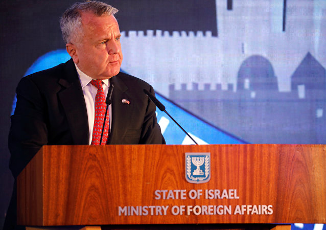 Secretário de Estado adjunto dos EUA, John Sullivan.