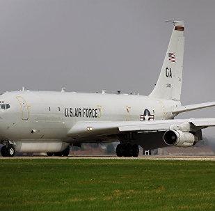 Avião norte-americano E-8C Joint STARS