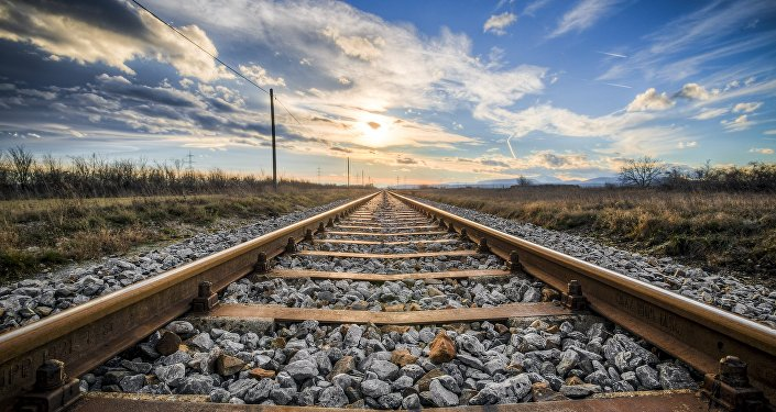 Trilhos de ferrovia (imagem ilustrativa)