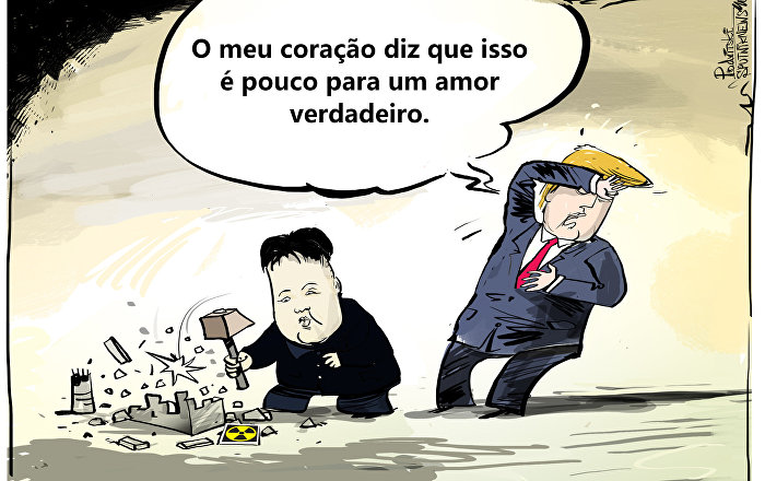Está difícil conseguir amor de Trump