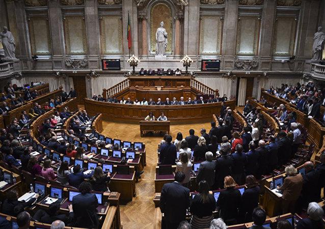 Assembleia da República Portuguesa em sessão de outubro de 2017 (arquivo)